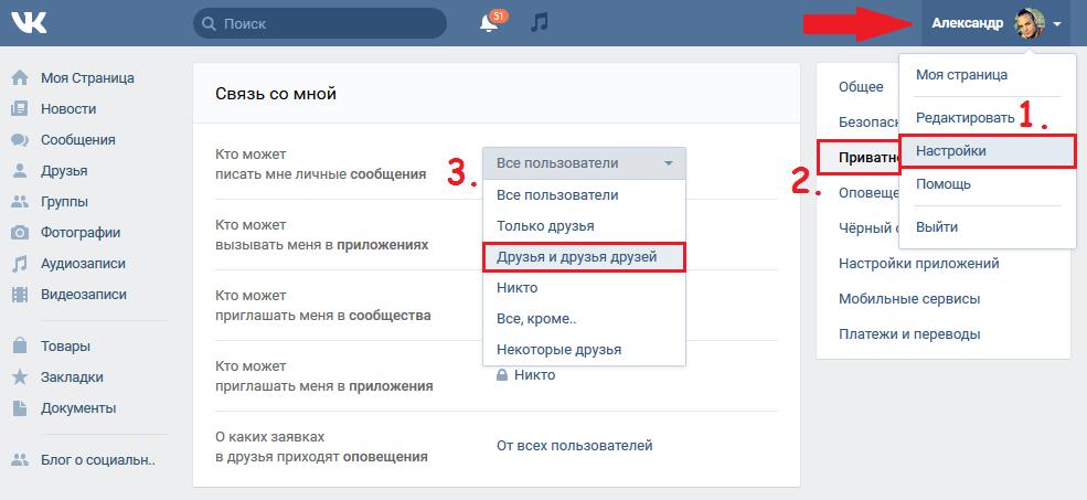 Как избавиться от спама Вконтакте в сообщениях