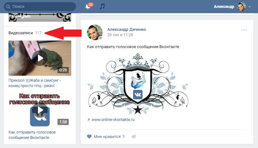 Скрытая камера видеозаписи вконтакте